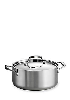 Tramontina Gourmet Tri-Ply Clad 18/10 Stainless Steel Induction-Ready 5-Qt. Covered Dutch Oven - Online Only