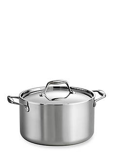 Tramontina Gourmet Stainless Steel Induction-Ready 6-qt. Covered Sauce Pot - Online Only