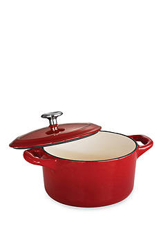 Tramontina Gourmet 24-oz. Red Enameled Cast Iron Cocotte - Online Only