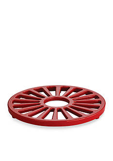 Tramontina Gourmet 7-in. Red Enameled Cast Iron Trivet - Online Only