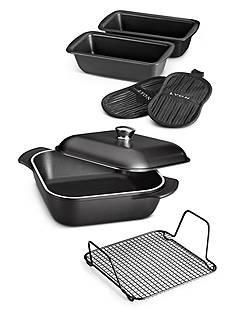 Tramontina LYON 7-Piece Onyx Cookware Set