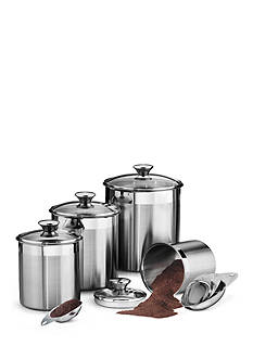 Tramontina Gourmet 18/10 Stainless Steel 8-Piece Canister & Scoops Set