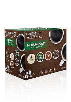 Keurig Medium Roast Collection Hot Variety K-Cup Pack 48-Count