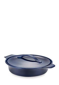 Anolon Vesta Stoneware 2.5-qt. Round Casserole, Baltic Blue