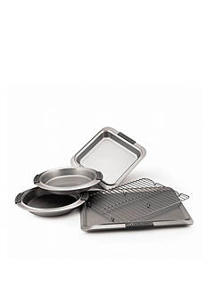 Anolon Advanced Nonstick Bakeware 5-Piece Bakeware Set with Silicone Grips