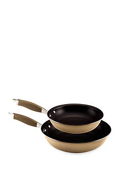 Anolon Bronze Hard Anodized Nonstick Twin Pack: 10-in. and 12-in. French Skillet
