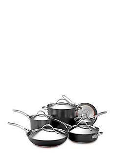 Anolon 11-Piece Nouvelle Copper Hard Anodized Cookware Set