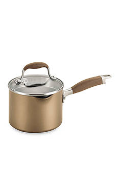 Anolon 2-qt. Nonstick Aluminum Covered Straining Saucepan With Pour Spouts
