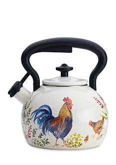 Paula Deen Signature Teakettles 2-qt. Enamel On Steel Teakettle