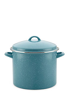 Paula Deen Enamel On Steel 12-qt. Covered Stockpot