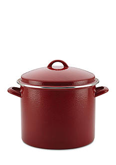 Paula Deen 12-qt. Enamel On Steel Stockpot with Lid