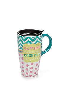 Home Accents Caffeine, Carpool, Cocktail Latte Mug