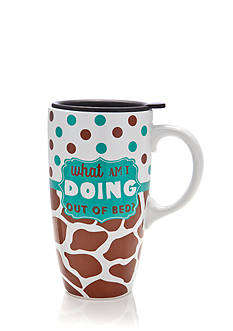 Home Accents Out Of Bed Latte Mug with Gift Box