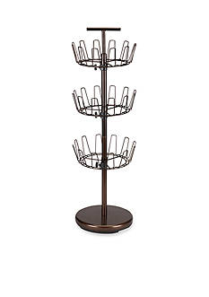 Household Essentials 3 Tier Revolving Shoe Tree Bronze Online Only