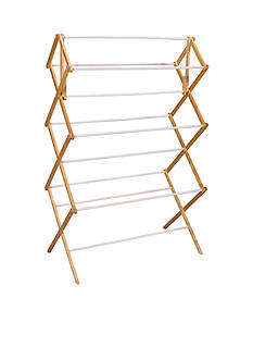 Household Essentials Mega Fir Wood Clothes Drying Rack - Online Only
