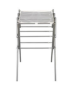 Household Essentials Expandable Clothes Drying Rack, Silver - Online Only