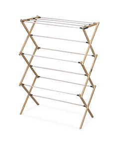 Household Essentials Pine Wood X-Frame Drying Rack - Online Only