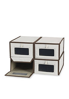 Household Essentials Small Vision Shoe Box - Online Only