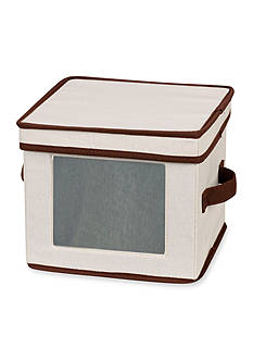 Household Essentials China Storage Dessert Plate/Bowl Chest - Online Only