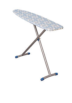 Household Essentials Euro Arch T-Leg Ironing Board, Silver - Online Only