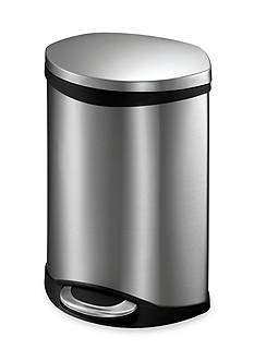 EKO Six Liter Shell Step Bin With Hands Free Operation - Online Only