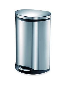 EKO 50 Liter Step Bin Stainless Trash Can With Hands-Free Open and Close - Online Only