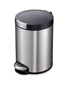EKO 5 Liter Stainless Steel Step Bin With Hands-Free Open and Close - Online Only