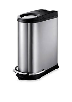 EKO 40L Rectangular Stainless Waste Bin - Online Only
