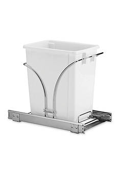 Household Essentials 16-in. Sliding Trash Can Chrome Single Pack New Design