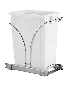 Household Essentials 19-in. Sliding Trash Can-Chrome Single Pack New Design