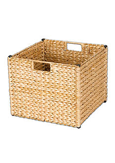 Household Essentials Banana Leaf Wicker Storage Bin - Online Only