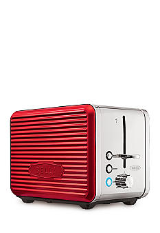 bella linea collection 2 slice toaster red 14093 belk everyday free shipping. Black Bedroom Furniture Sets. Home Design Ideas