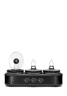 Sensio 3x1.5 Qt Triple Slow Cooker BLA14582
