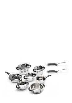 BergHOFF 12-Piece Virgo Cookware Set with Fry Pans