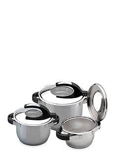 BergHOFF Virgo 6-Piece 18/10 Stainless Steel Set