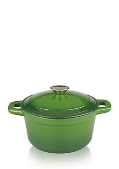 BergHOFF NEO 5QT CAST IRON COVERED STOCKPOT GREEN