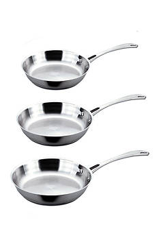 BergHOFF Copper Clad 3-Piece Frypan Set