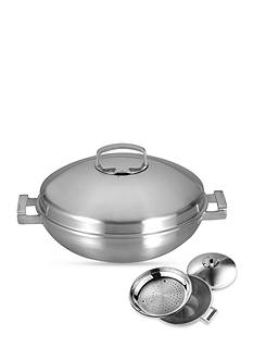 BergHOFF Neo Covered 11-in. Wok with Steamer