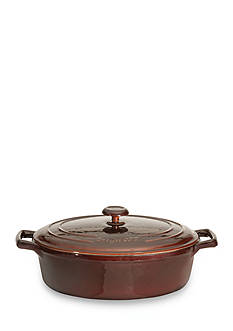 BergHOFF 10-in. Cast Iron Covered Oval Casserole