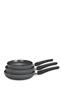 T-fal Initiatives 3 pc Fry Pan Set