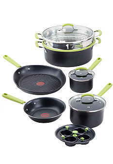 T-fal 10pc Balanced Life Cookware Set