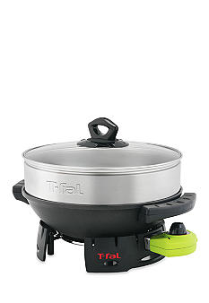 T-fal Balanced Living Wok with Steamer WO400852