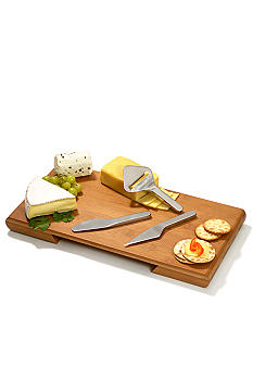 Metrokane Four Piece Complete Cheese Service Set