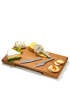 Metrokane Four Piece Complete Cheese Service Set
