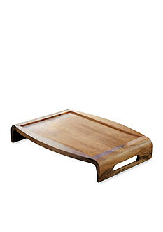 Lipper International Acacia Reversible Serving Tray
