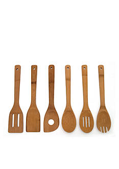 Lipper International Bamboo Set of 6 Tools