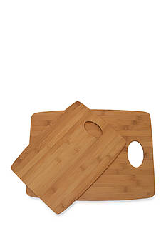 Lipper International Set of 2 Thin Bamboo Cutting Boards