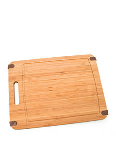 Lipper International Bamboo Cutting Board with Silicone Corners - Online only