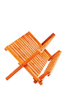 Lipper International Bamboo Folding Dishrack