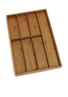Lipper International Bamboo Flatware Organizer